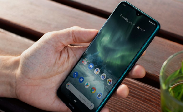 Nokia 7.2 Triple-Camera Smartphone provides accurate color with PureDisplay