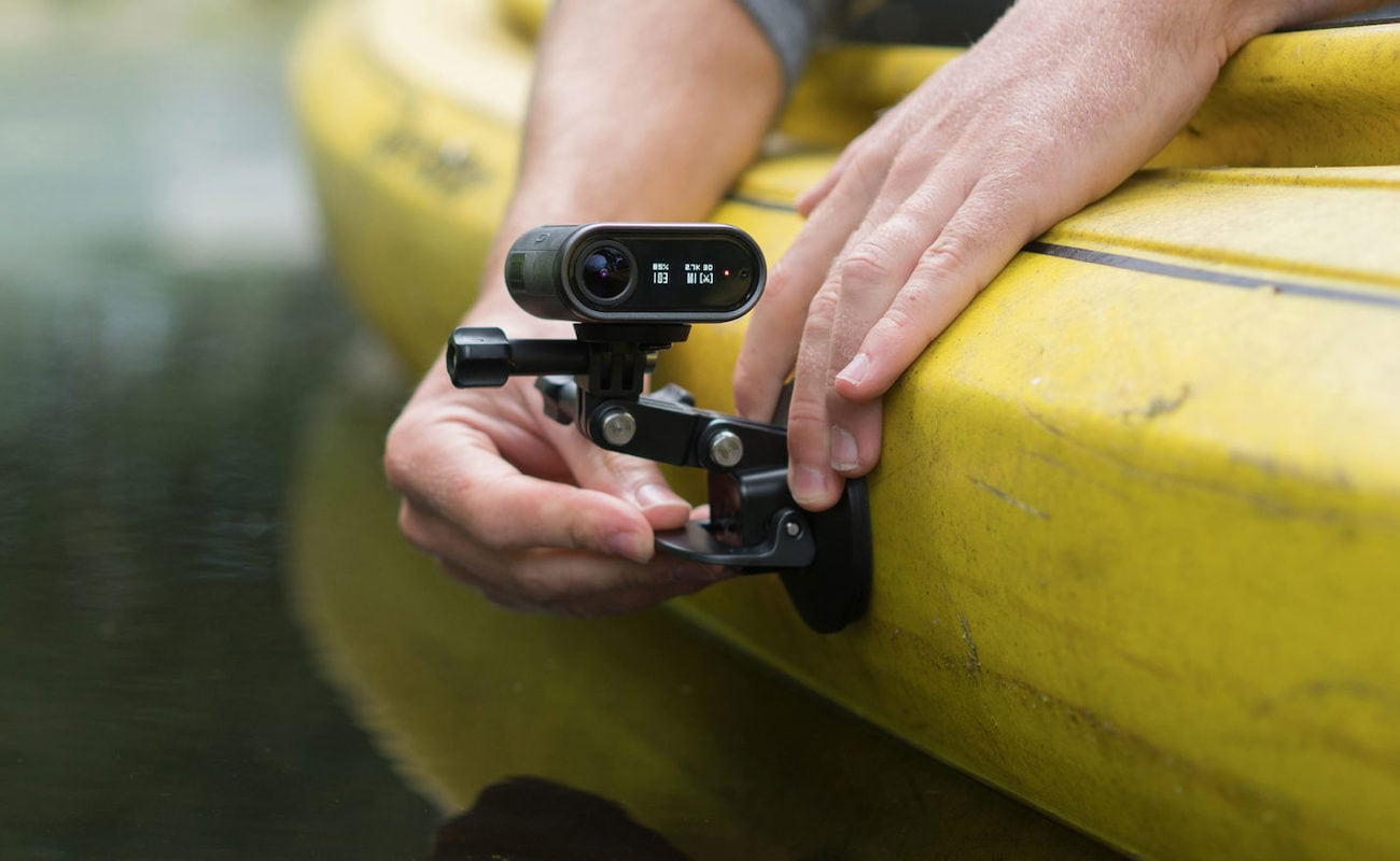 OCLU 4K Action Camera lets you delete recorded video in real time