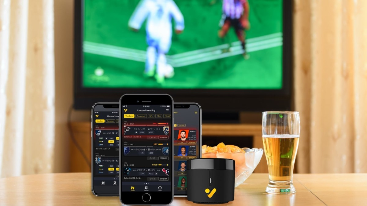 OmniView Sports GameChangr All-Sports Smart Remote truly lets you watch it all