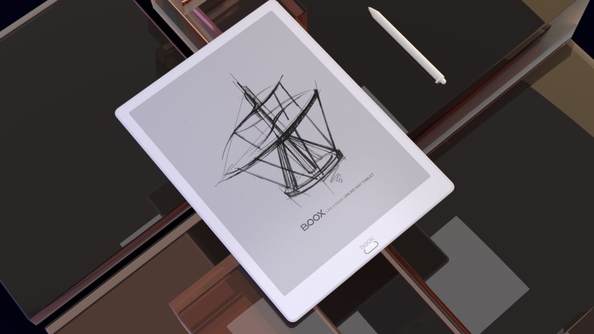 Onyx BOOX Max3 E-Ink Display E-Reader offers paper-like writing