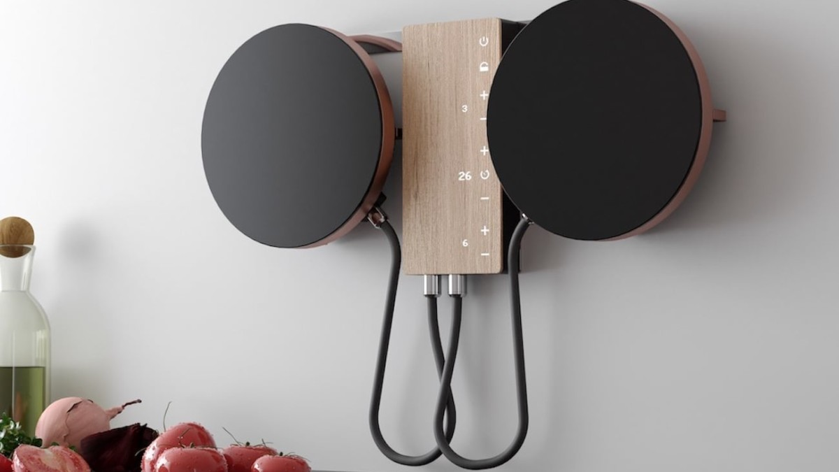 Ordine Movable Cooktop gives you more space to work in the kitchen