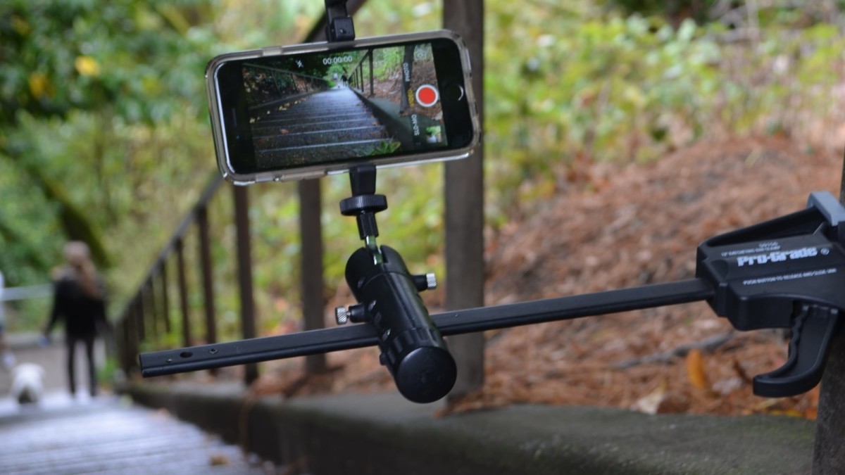 PiggyBack Flexible Camera Support System is a compact mounting system you can use anywhere