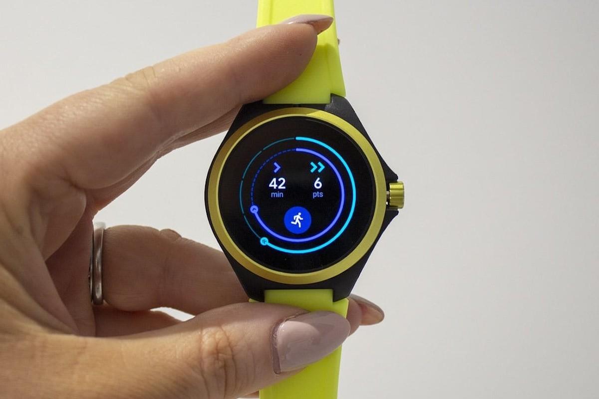 Puma Smartwatch Wear OS Watch is a lightweight wearable built for swimming