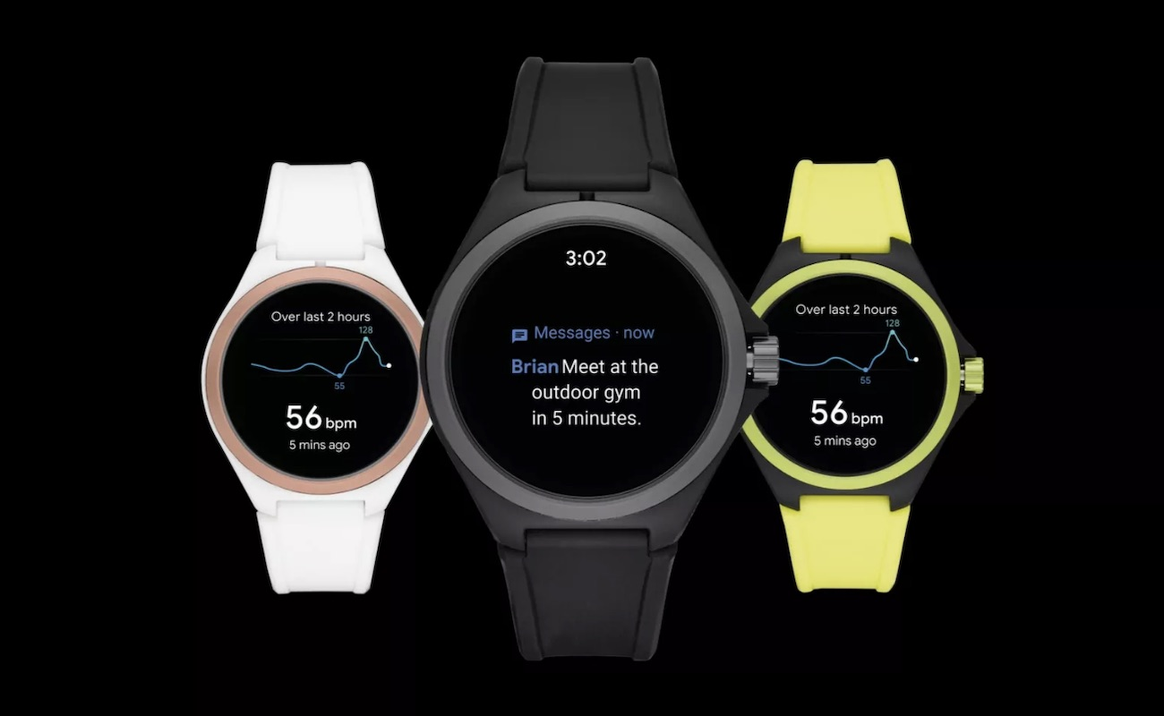 Puma Smartwatch Wear OS Watch is a lightweight wearable built for swimming