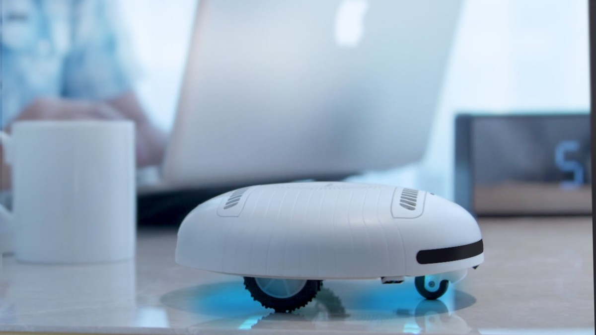 ROCKUBOT Mite & Bacteria-Eliminating Robot cleans all your furniture