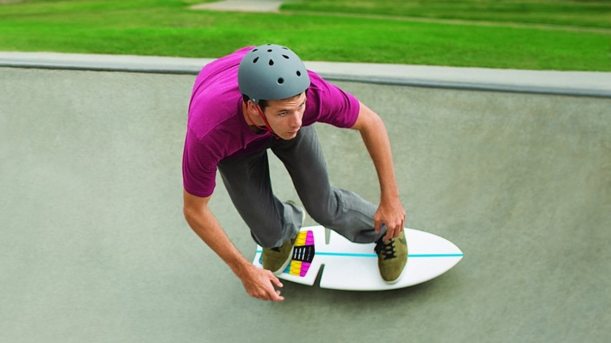 Razor RipSurf Land Surfboard makes it feel like you're riding the waves