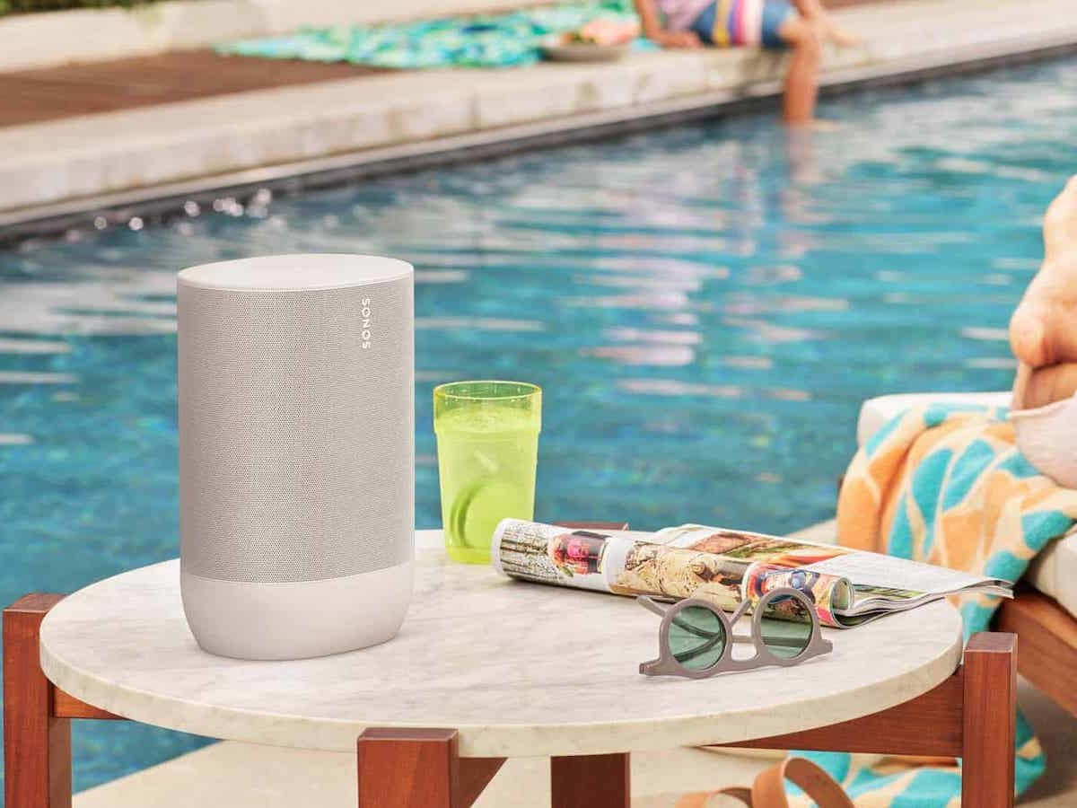 SONOS Move Drop-Resistant Wi-Fi Speaker is made to go with you