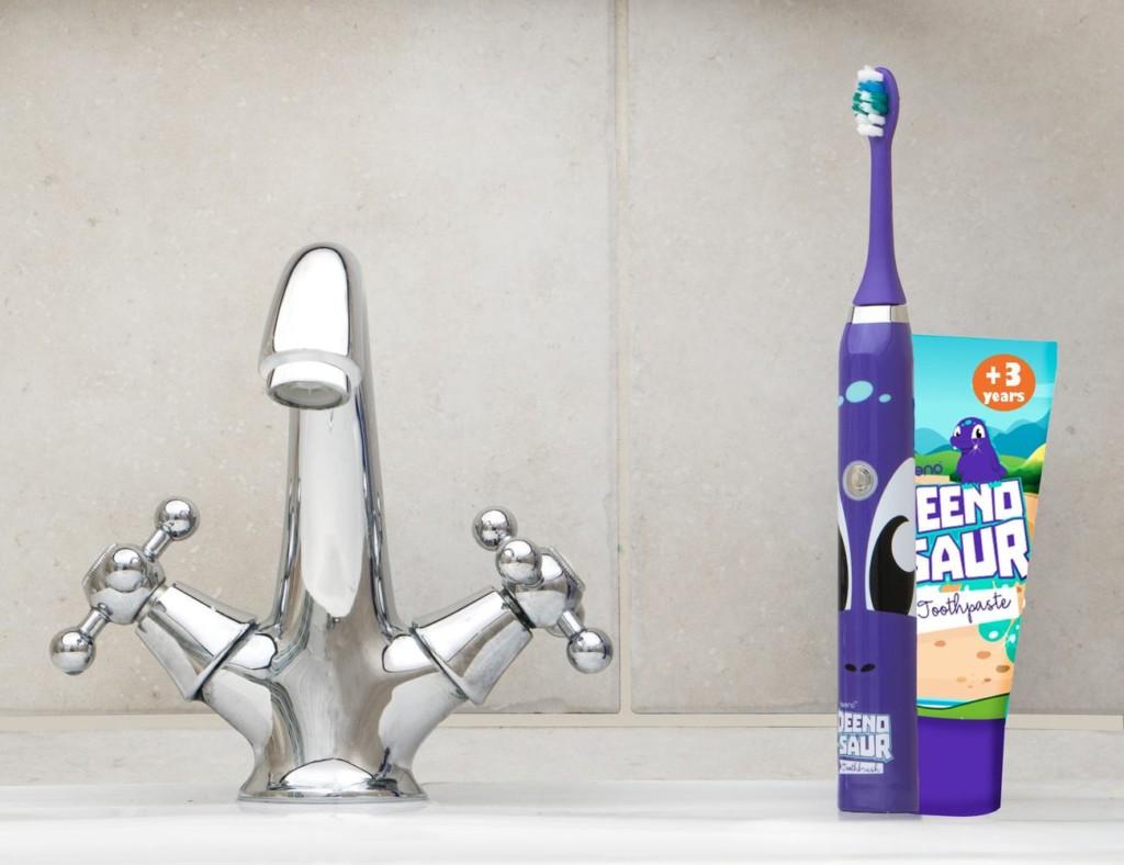 9 Smart toothbrushes for better dental hygiene - Deeno-saur 01