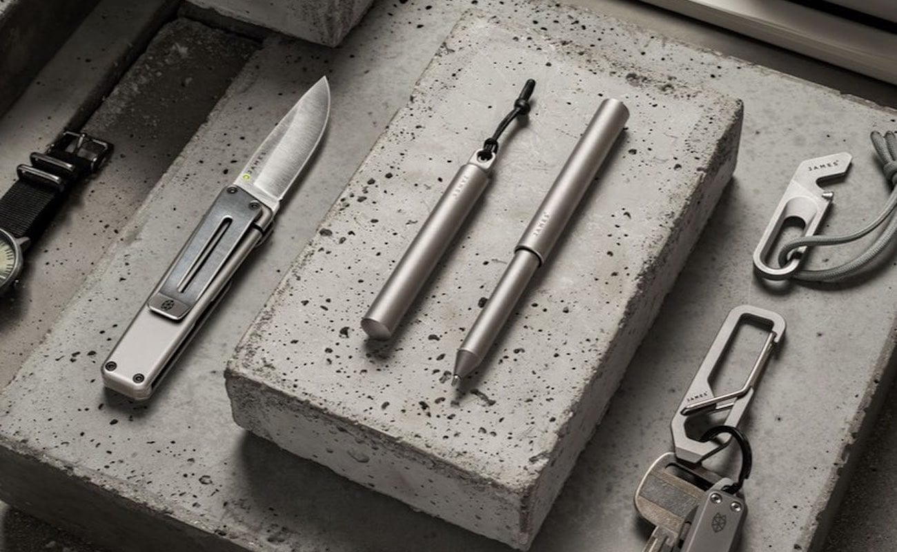 The Stilwell High-Quality Compact Pen is a minimalist EDC necessity