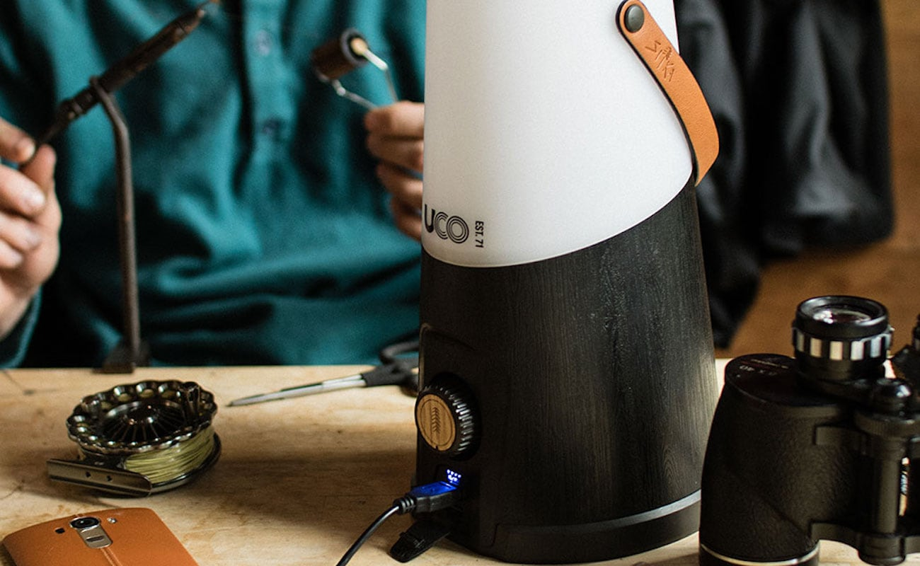 UCO Gear Sitka+ Rechargeable Lantern has a built-in extender for better light distribution