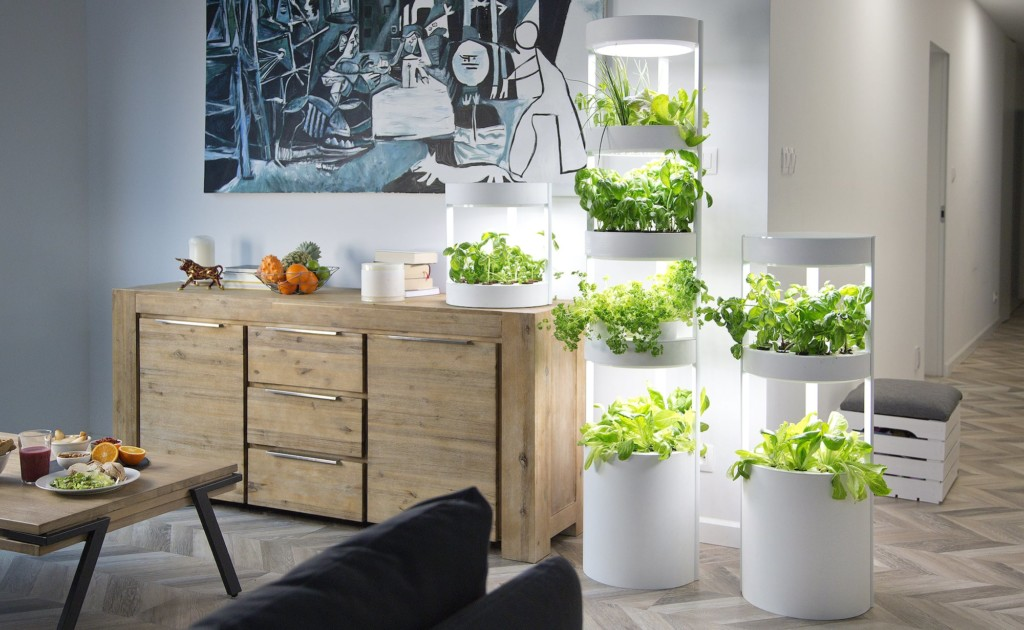 Verdeat+Personalized+Home+Garden+automatically+grows+up+to+76+plants+at+once