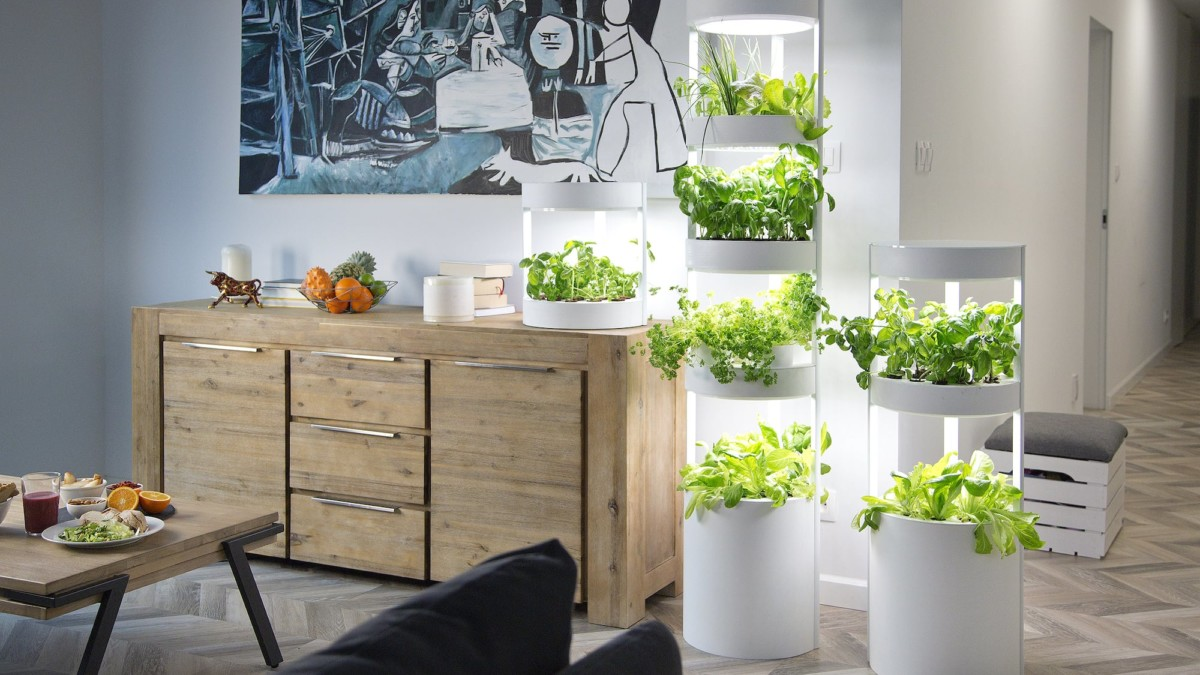 Verdeat Personalized Home Garden automatically grows up to 76 plants at once