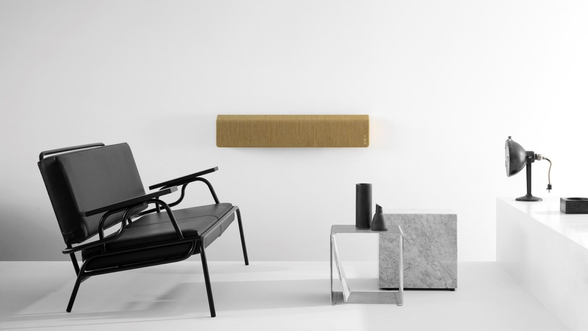 Vifa Stockholm 2.0 Wall-Mountable Speaker seamlessly integrates with the Home collection