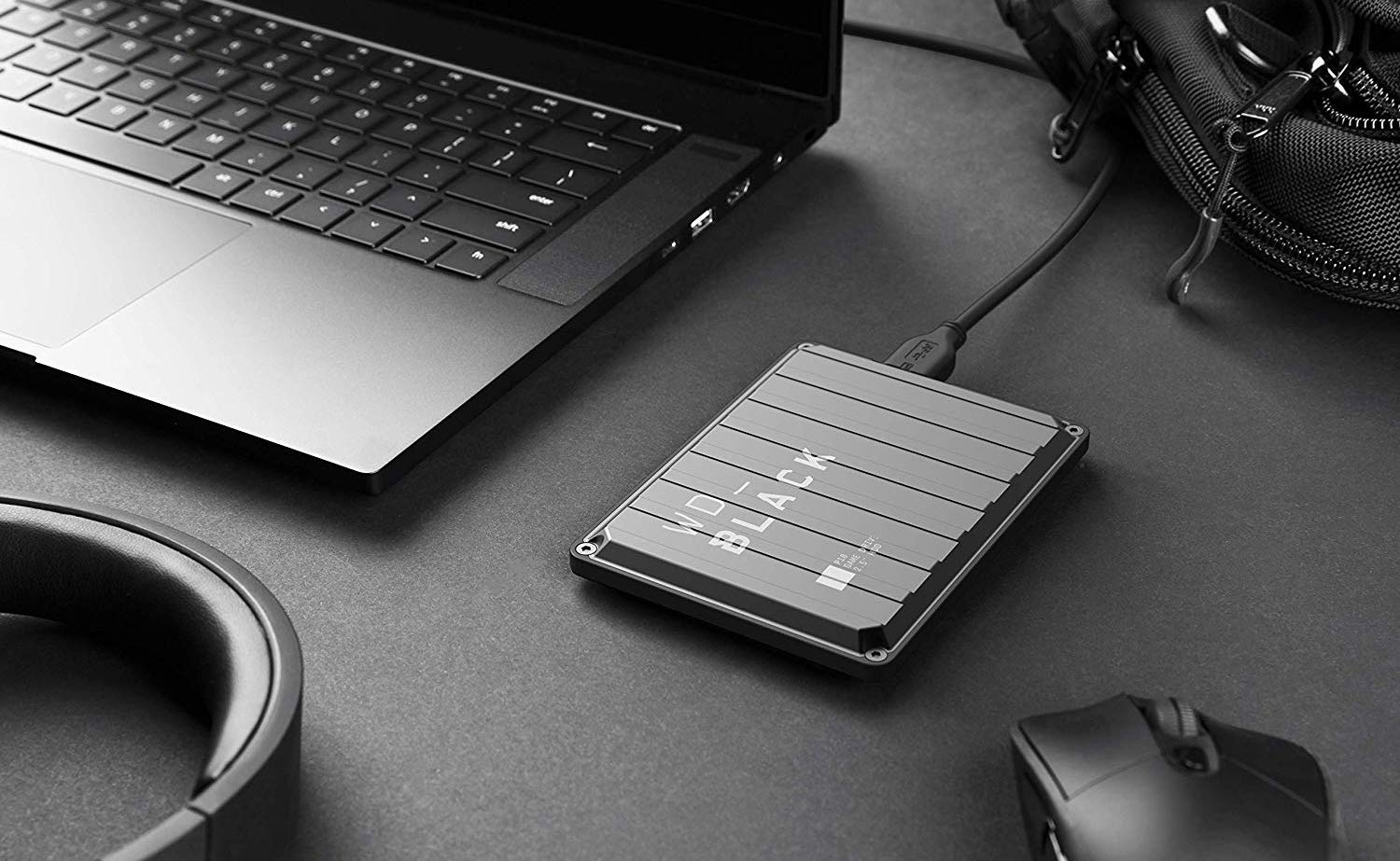 Western Digital WD_BLACK P10 Game Drive External HDD provides 140 MBps transfer speed