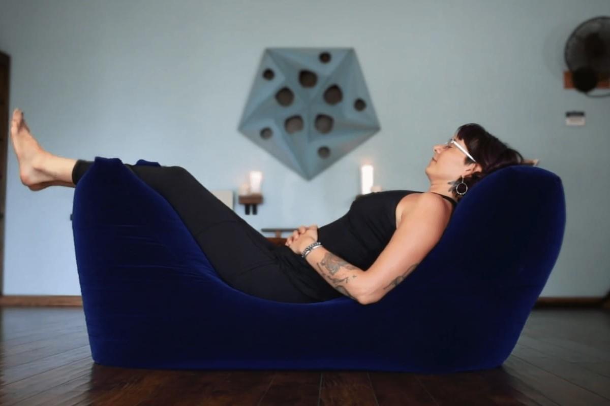 Zero Gravity Zen Bean Bag helps you achieve total relaxation
