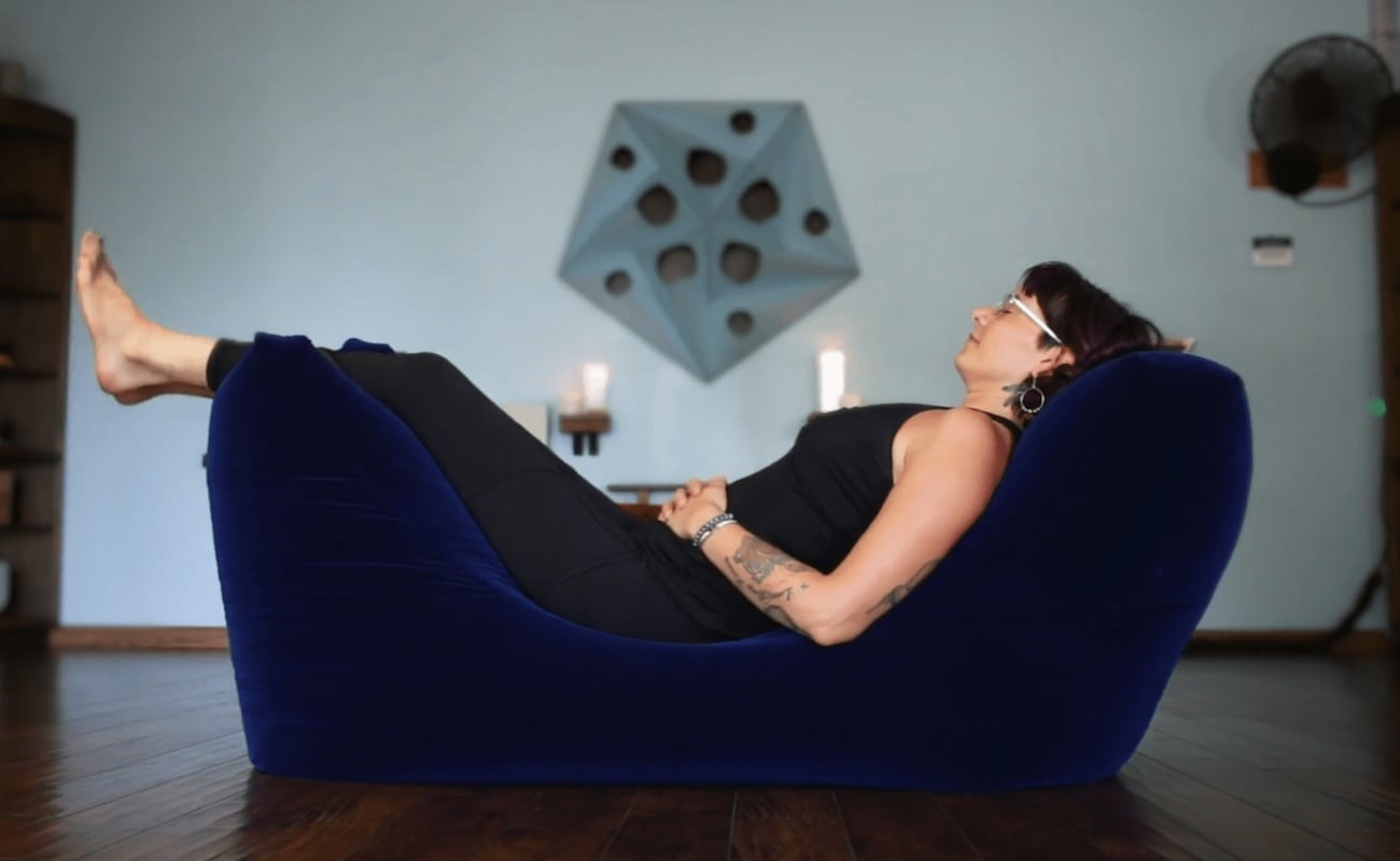 Zero Gravity Zen Bean Bag helps you achieve total relaxation