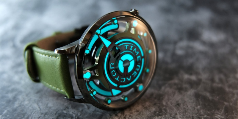Time Reactor is the ultimate watch for Area 51 enthusiasts - area 51 03