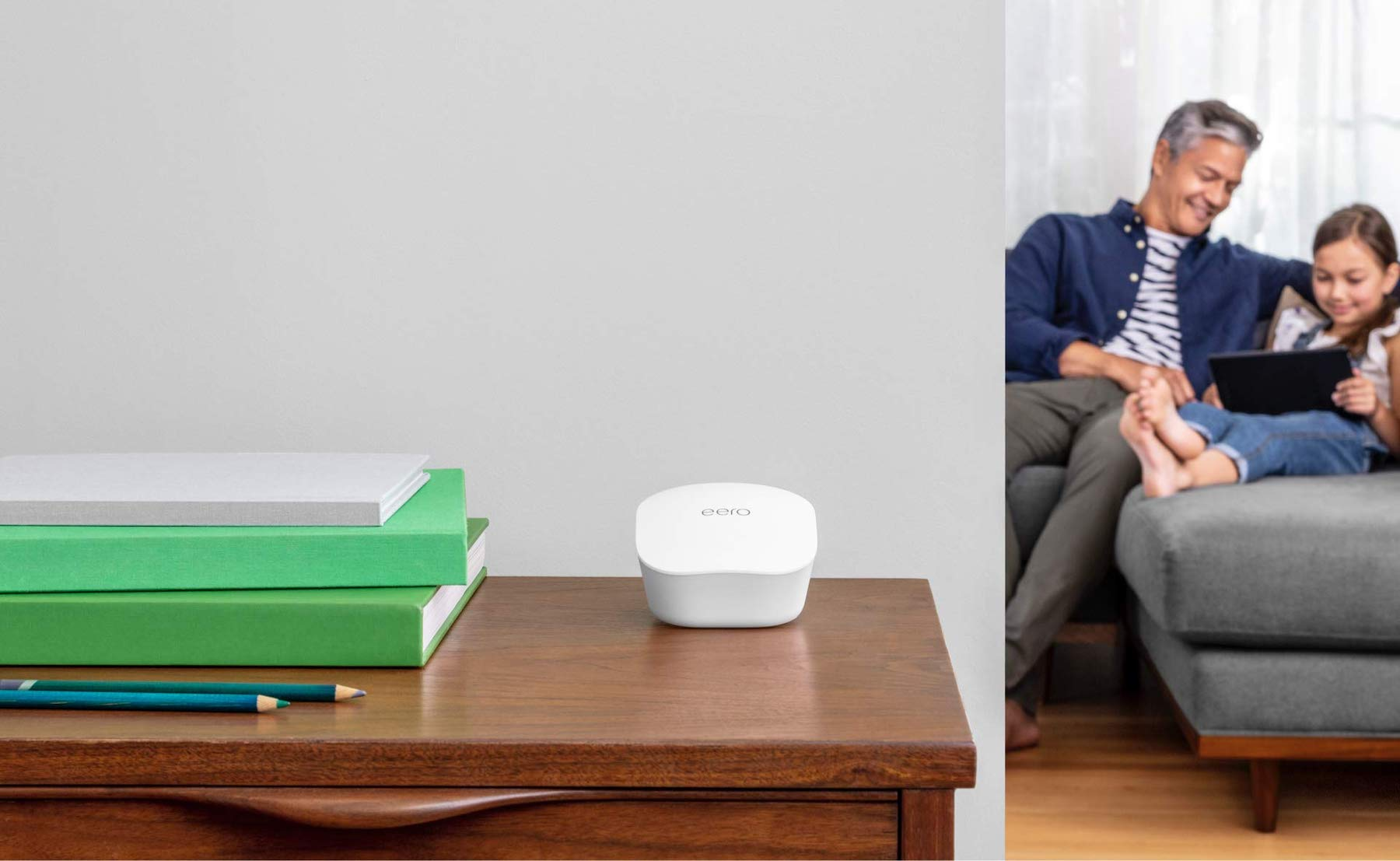 eero Mesh Wi-Fi Router Whole-Home Internet System gives your home up to 1,500 square feet of fast internet