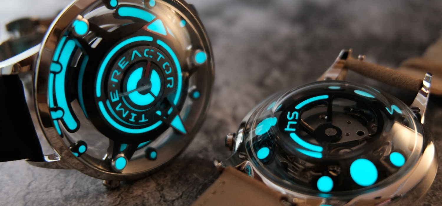Time Reactor is the ultimate watch for Area 51 enthusiasts