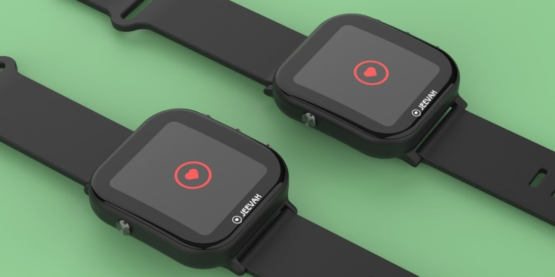 Jeevah is a new smartwatch that will teach you yoga