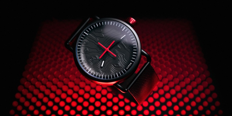 Celebrate the moon landings with the SVPER11 3D watch