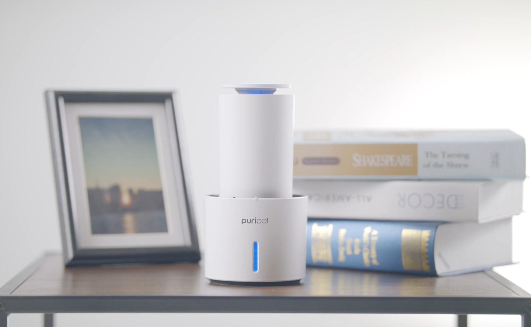 puripot P1N All-In-One Personal IoT Air Purifier uses eco-friendly, filter-free photocatalyst technology