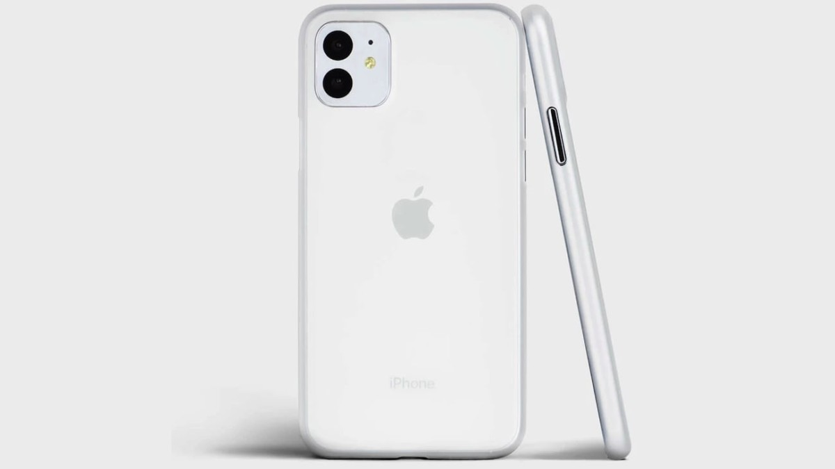 totallee Thin iPhone 11 Smartphone Case adds extra protection for your camera lens