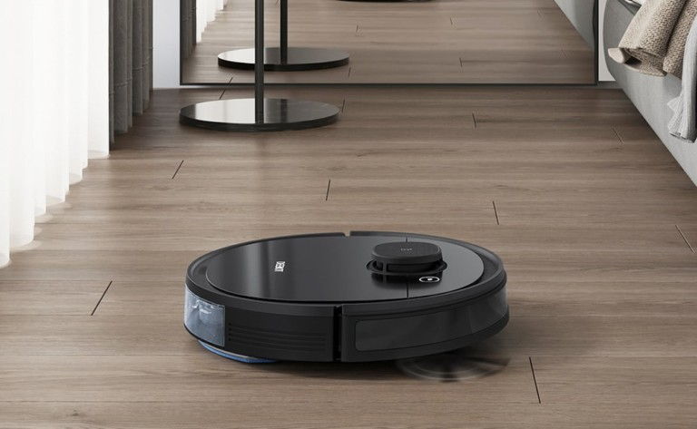 DEEBOT OZMO 950 Vacuums and Mops On Its Own