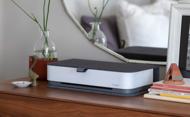 HP Tango X Smart Home Printer Responds to Voice Commands