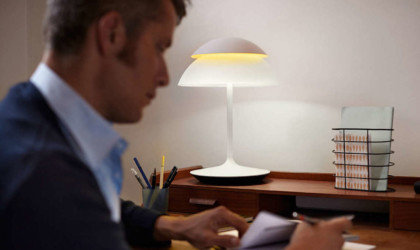 The Smart Table Lamp is a modern touch to any space