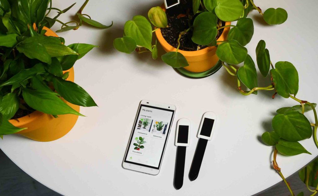 greensens sends alerts about your plants to the app
