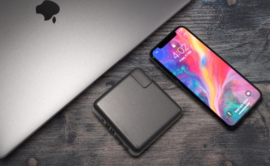 SuperCharger 2.0 can power three devices at once