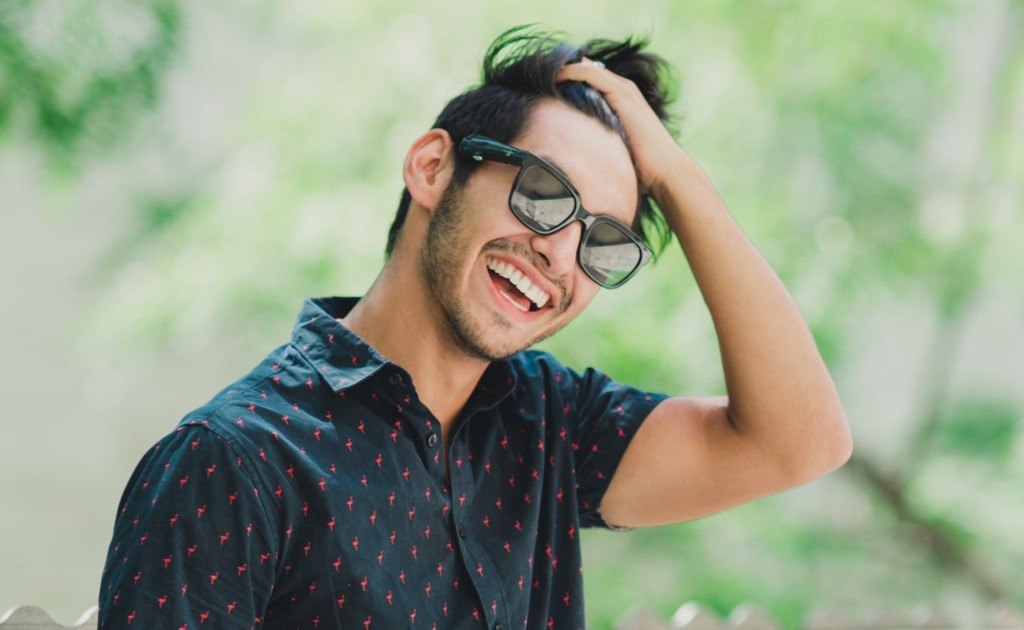 These video-streaming sunglasses offer a realistic perspective