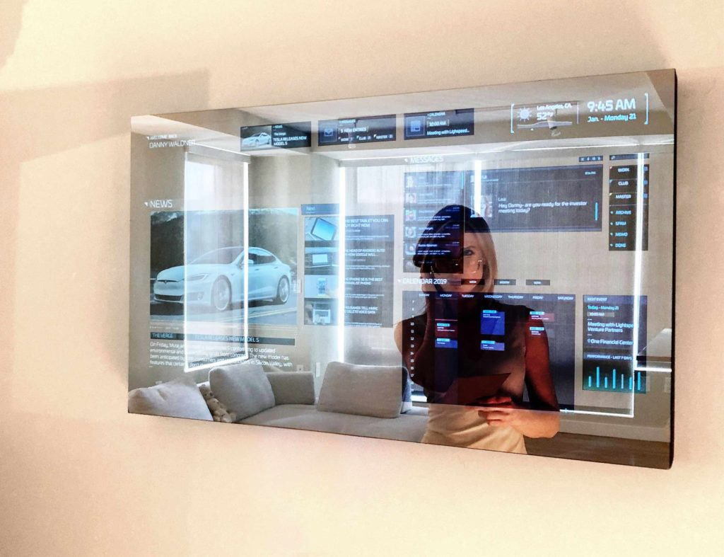 Ayi smart mirror is part of a set of cool tech gadgets using AI