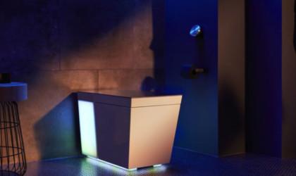 Numi 2.0 smart toilet has built-in speakers