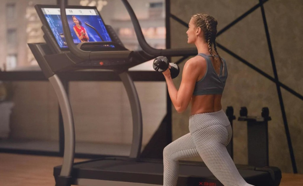 NordicTrack X32i provides a full-body workout