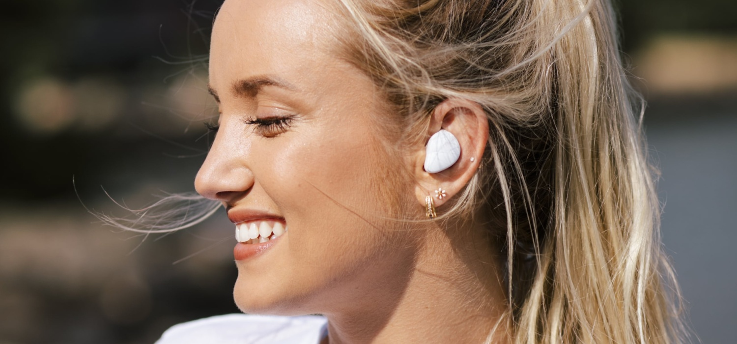 Get 24-hour tunes on the go with the new Vibe earbuds