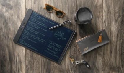 Blackboard is a rewritable tablet