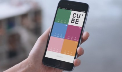 Palette Cube shows results in the companion app