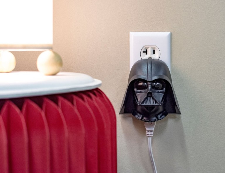 Darth Vader Clapper turns lights on and off with a clap