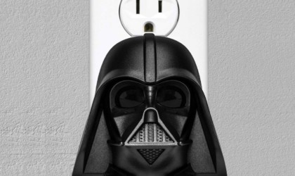 Darth Vader Clapper plugs into an outlet