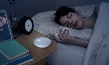 Dodow uses a metronome for relaxed breathing