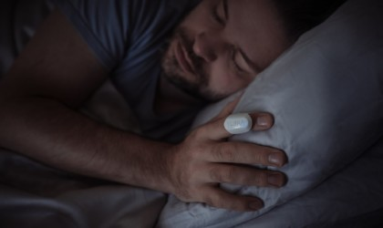 Thim Sleep-Tracking Ring is a small wearable that monitors sleep patterns