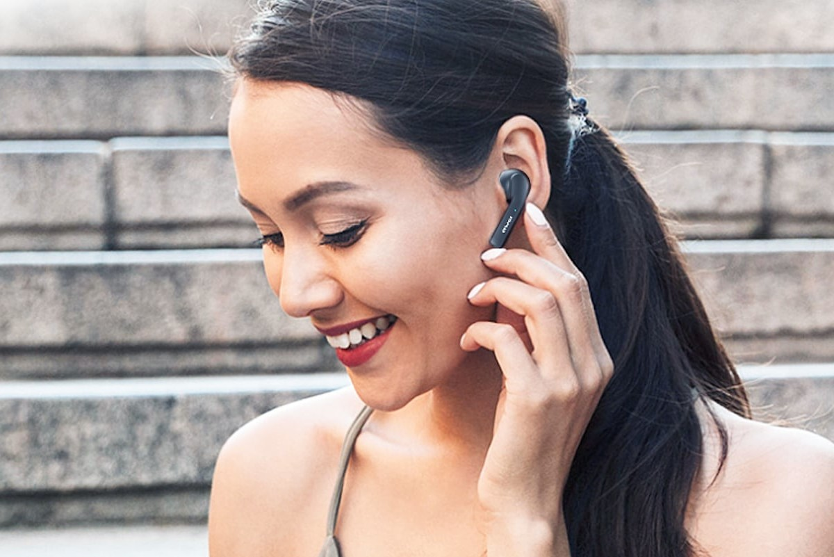 AWEI TWS Touch Control Earphones have an IPX4 waterproof rating