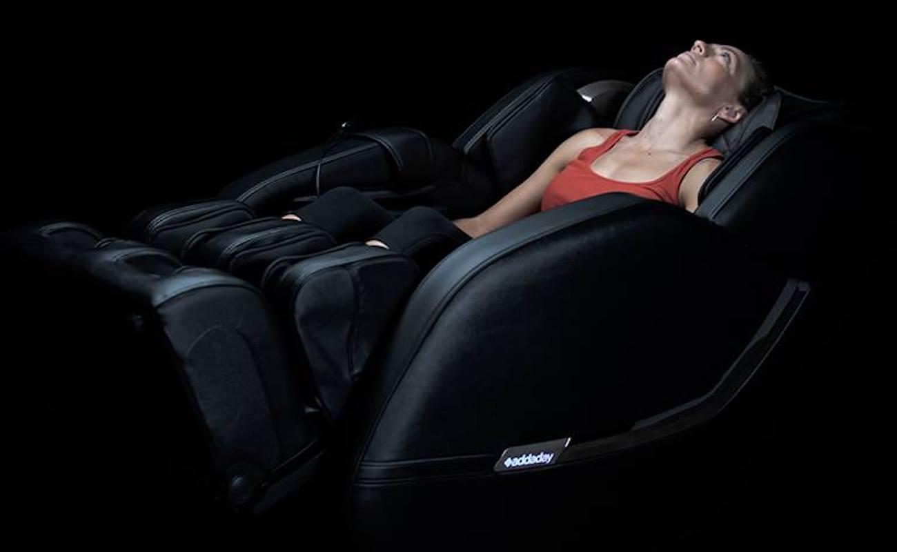 Addaday IRONMAN BioChair Pro Total Body Recovery Chair offers zero-gravity inversion