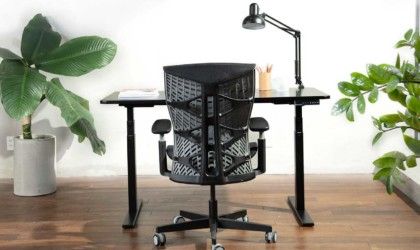 The Kinn Chair is modeled after the human spine