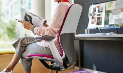 Steelcase SILQ is fully adjustable