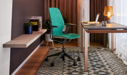 Steelcase SILQ comes in vibrant color options