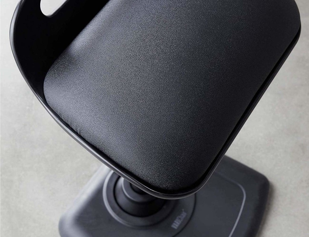 Seat of the standing desk chair