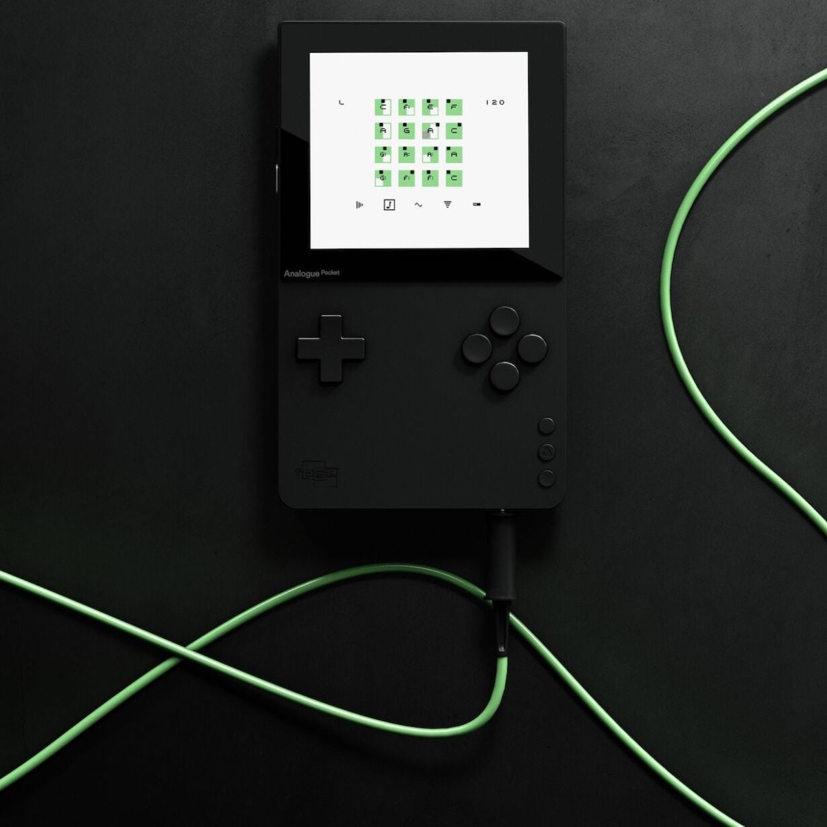 Analogue Pocket Handheld Video Game System even has a built-in audio sequencer and synthesizer